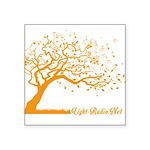 Automne Leaves Orange Sticker