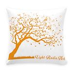 Automne Leaves Orange Everyday Pillow