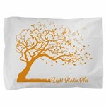 Automne Leaves Orange Pillow Sham