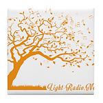 Automne Leaves Orange Tile Coaster