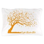 Automne Leaves Orange Pillow Case