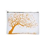 Automne Leaves Orange Makeup Bag