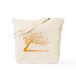 Automne Leaves Orange Tote Bag
