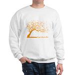 Automne Leaves Orange Sweatshirt