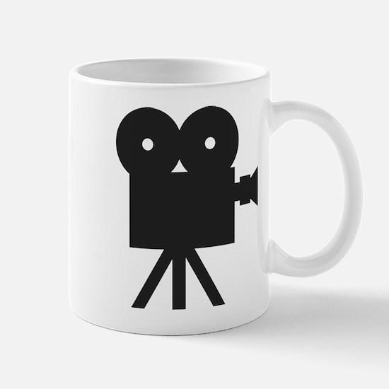 black cine camera hollywood Mug