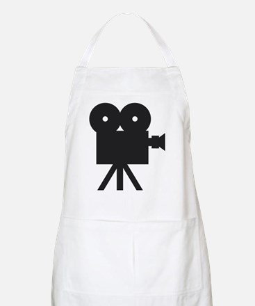 black cine camera hollywood BBQ Apron