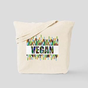 Colorful Vegan Tote Bag