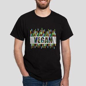 Colorful Vegan Dark T-Shirt