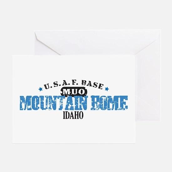 Mountain Home Air Force Base Greeting Card