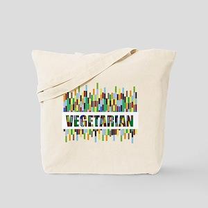 Colorful Vegetarian Tote Bag