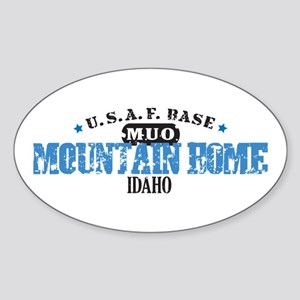Mountain Home Air Force Base Sticker (Oval)