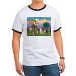 St Francis - 2 Bull Terriers (10-11) T-Shirt