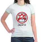 I Don't Wanna Grow Up Jr. Ringer T-Shirt