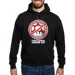 I Don't Wanna Grow Up Hoodie (dark)