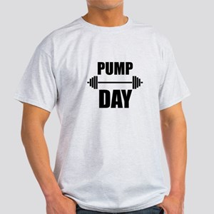 Pump Day Lift Weights T-Shirt