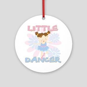 Little Dancer Ornament (Round)