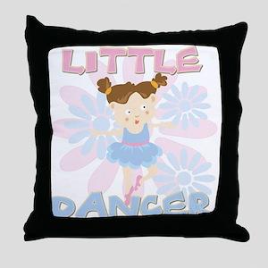Little Dancer Throw Pillow