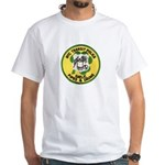 NYTPD Pipes & Drums White T-Shirt