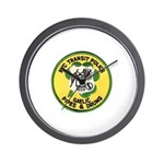 NYTPD Pipes & Drums Wall Clock