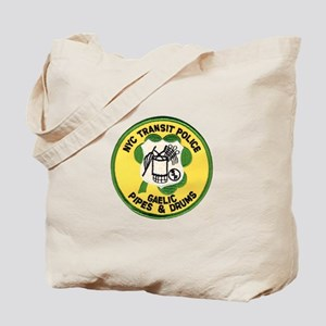 NYTPD Pipes & Drums Tote Bag