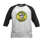 NYTPD Pipes & Drums Kids Baseball Jersey