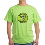 NYTPD Pipes & Drums Green T-Shirt