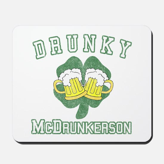 Drunky McDrunkerson Mousepad