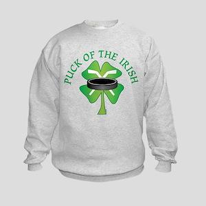 Puck of the Irish Kids Sweatshirt