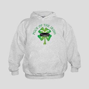 Puck of the Irish Kids Hoodie