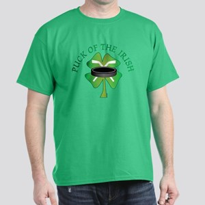 Puck of the Irish Dark T-Shirt