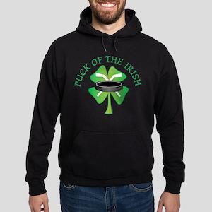 Puck of the Irish Hoodie (dark)