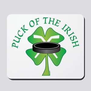 Puck of the Irish Mousepad