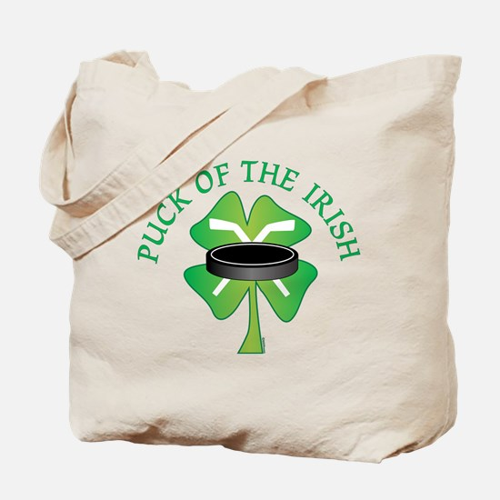 Puck of the Irish Tote Bag