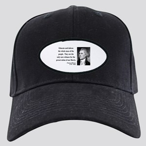 Thomas Jefferson 22 Black Cap