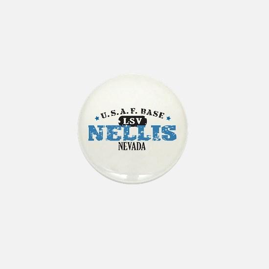 Nellis Air Force Base Mini Button
