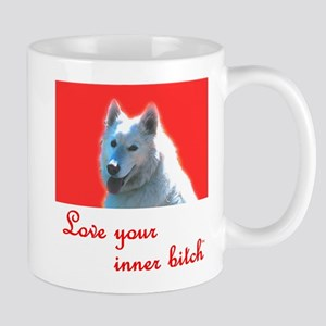 Love your inner bitch red Mug