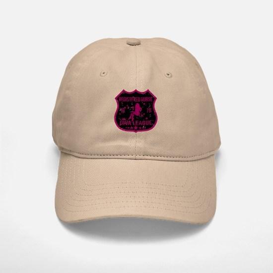 Registered Nurse Diva League Baseball Baseball Cap