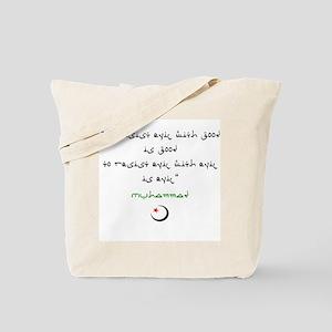 The Wisdom of Islam Tote Bag