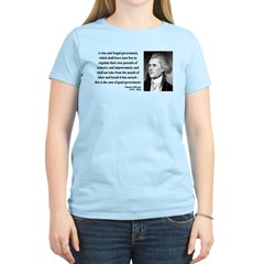 Thomas Jefferson 23 Women's Light T-Shirt