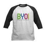 Bring Your Own Improv - Kids Baseball Jersey
