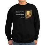 Thomas Jefferson 27 Sweatshirt (dark)