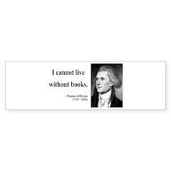 Thomas Jefferson 27 Bumper Bumper Sticker