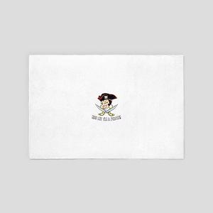 Pirates Kiss 4' x 6' Rug
