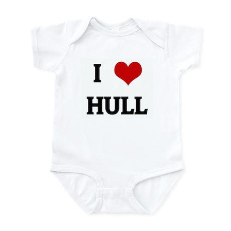 I Love HULL Infant Bodysuit