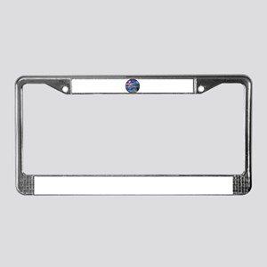 2dolphins License Plate Frame