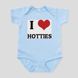 I Love Hotties Infant Creeper