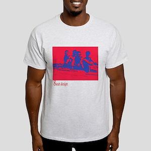 red/blue rower Light T-Shirt