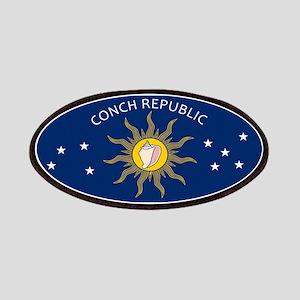 Conch Republic Plate Patch