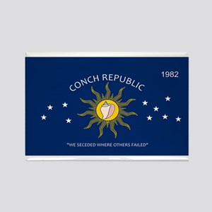 Conch Republic Plate Magnets