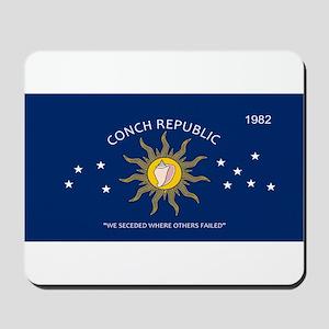 Conch Republic Plate Mousepad